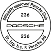Officially approved Porsche Club 236